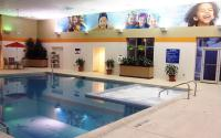 Splash in our OVERSIZED Indoor pool & Whirlpool