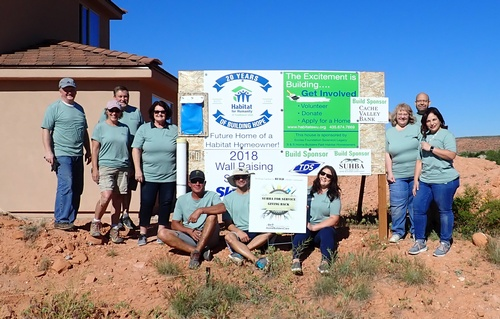 SUHBA for Service Day - Habitat House