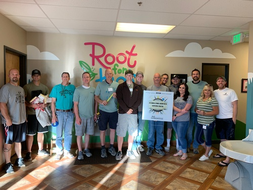 SUHBA for Service Day - Roots for Kids