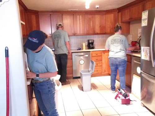 SUHBA for Service Day - Dove Center