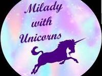 Milady with Unicorns