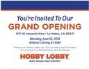 Hobby Lobby - La Habra