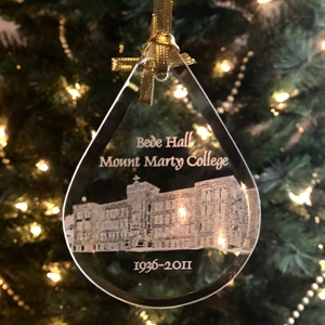 Picture of Mount Marty College Bede Hall Ornament