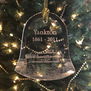 Picture of Yankton Riverboat Glass Ornament