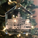 Picture of Yankton County Courthouse Glass Ornament