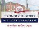 Picture for category Stronger Together Gift Card Program