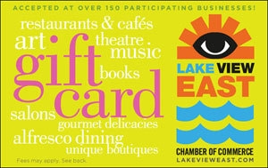 Picture of Lakeview East Gift Card