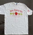 Picture of Apple Harvest Day White Volunteer Tee Shirt