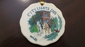 Picture of 2013 Mounted Patrol Holiday Ornament