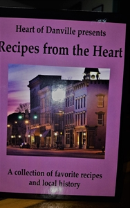 Picture of Recipes from the Heart Cookbook