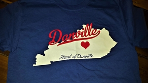 "Picture of ""Heart of Danville"" T-Shirt"