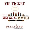 Picture of VIP Ticket- Delafield Wine Walk & Brew Fest