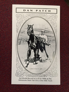 Picture of Dan Patch Postcard