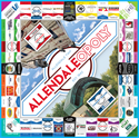Picture of 3 Cases of AllendaleOpoly Games (18 games total)