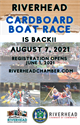 Picture of 2021 Cardboard Boat Race Sponsorship Opportunities