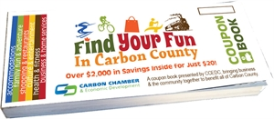 Picture of CCEDC Find Your Fun in Carbon County Coupon Book