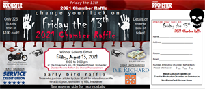 Picture of 2021 Chamber Raffle Ticket