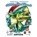 Picture of 2019 Holiday Boat Parade Shirt - Designed by Dennis Friel