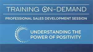 Picture of Professional Sales Development - Power of Positivity
