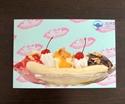 Picture of Banana Split Postcard