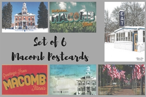 Picture of Set of 6 Macomb Postcard Pack