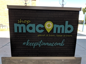 Picture of Shop Macomb Snap Poster
