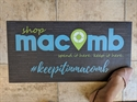 Picture of Shop Macomb Floor Decal