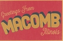 Picture of Macomb Postcard
