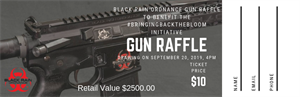Picture of Black Rain Ordnance Gun Raffle