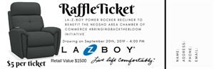 Picture of La-Z-Boy Power Recliner Raffle Ticket