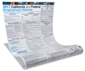Picture of 2017 California and Federal Employment Poster(paper w/poster protect)