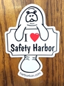 "Picture of I ""heart"" (love) Safety Harbor Magnet"