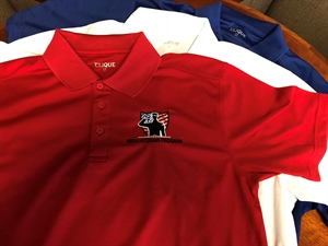 Picture of Mesa Veterans Program Logo Polo Shirt