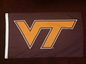 Picture of Virginia Tech Flag