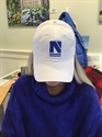 Picture of N Hat - White
