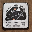 Picture of 3-2-1 Hiking Challenge Patch