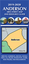 Picture of Anderson, SC City and County Map
