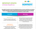 Picture of Important Updates to KY's Nonprofit Laws