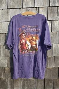 Picture of 2018 Ocracoke Blackbeard Pirate Jamboree T-Shirt - Female Pirate