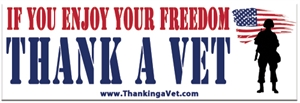 Picture of Thank A Vet Magnet