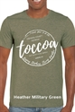 Picture of Heather Military Green Keeping Stephens Strong T-Shirt