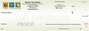 Picture of Chamber Gift Certificate