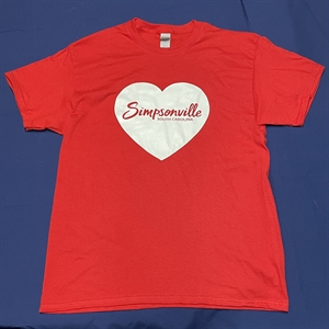 Picture of Short Sleeve Red Tee 2021