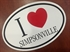 Picture of Heart Simpsonville Window Decal