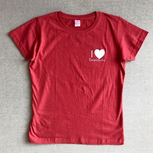 Picture of Ladies Red Short Sleeve Tee