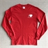 Picture of Long Sleeve Red Tee with Small Heart