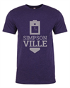 Picture of Clock Tower Blue Tee