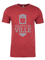 Picture of Clock Tower Red Tee