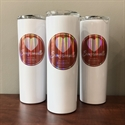 Picture of White 20oz. Stainless Tumbler