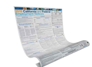 Picture of California and Federal Employment Poster